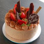 PÂTISSERIE DOUNEL - チョコレートケーキのバースデイケーキ^^