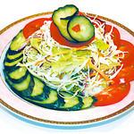 アンクール - 新鮮野菜たっぷり!
