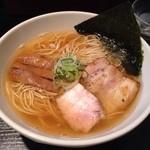 麺屋 とがし - 2013/10/31追い鰹中華そば800円