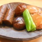 竹はる - 野菜とホタテ煮