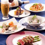 タベタリーテ - その他写真:季節のコース料理は3,500円〜