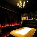 ロテヤキ。酒場。メリケン - 合コンや女子会にピッタリな大人の雰囲気のソファー席