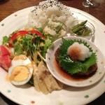 Cafe Rosso - おすすめランチ 味噌汁、コーヒー付きで@880円