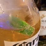 マリンナ - 瓶の中に落として飲みます♪