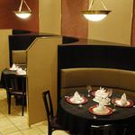 中国料理 景山 - レストラン内観