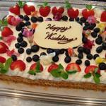 オステリア ガウダンテ - ウェディングケーキ