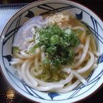 丸亀製麺 - ひやかけうどん