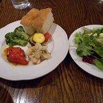 ボッカボーナ - お得感ありの前菜とサラダ 前菜はデザートに振替可