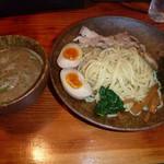 はぐるま - 2013.11.07 鶏白湯つけ麺 850円也