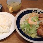キッチン丸山 - 2013.11.01 丸山 とり天ランチ
