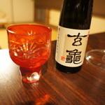 山田屋旅館 - 大分のお酒を頂きます。