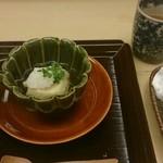 浜作 - ①胡麻豆腐の揚げ出し おいしぃ!!