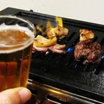一休 - 料理写真:Beer抜きでは語られませぬ