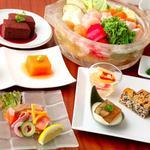 Japanese Vegetable House 菜 - 水晶鍋コース