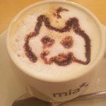 ミア・カフェ - カプチーノ800円