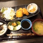 白峰特産品販売施設 菜さい - 堅豆腐のかつ定食