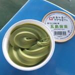 有川港フェリーターミナル売店 - 料理写真:五島抹茶の手づくりあいす