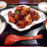 香港ダイニング 九龍 - 黒酢酢豚♪