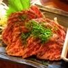 グリル若 - 料理写真:肉のたたき