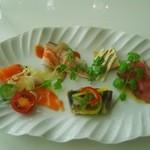 ヌーヴェル・テロワール - パスタセットの前菜です。