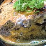 赤麺 梵天丸 - 唐辛子や花山椒が程よいバランス