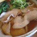 東京うどん 一将 - 肉うどん