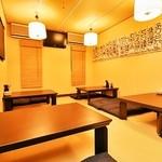 とりビアー - 宴会におすすめの2階席