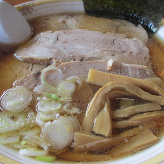 旅館 琴平荘 中華そば処 - 料理写真:850えん チャーシューメン(指定:こってり)2013.10