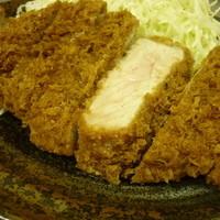 とんかつ まるや - 限定!厚切ロースかつ定食◆1200円