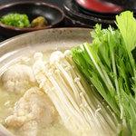 地鶏の水炊き小鍋