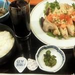 かっぱ亭 - 或る日のBランチ(鶏のサルサソース) 700円