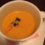 カプリカフェ - かぼちゃのポタージュ 秋限定