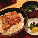 万平 - 鰻丼!