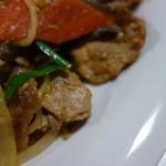 大丸食堂 - 料理写真:とにかく肉と玉ねぎ~!