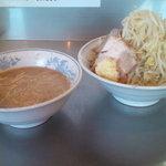 22372404 - つけ麺(小)(やさい多目)(800円)