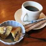 秩父路 - ランチサービスのコーヒー&デザート