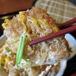 秩父路 - ミニカツ丼のカツ