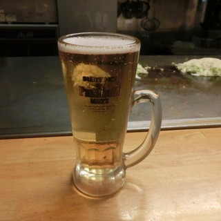 たかのばし八昌 - ドリンク写真:生ビール