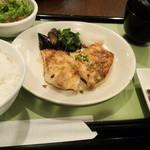 22374538 - メカジキのグリル膳~ジンジャーバター醤油ソース~