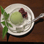 創作和食 田 - 抹茶アイスクリーム