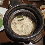 創作和食 田 - とらふぐの土鍋炊き込みごはん