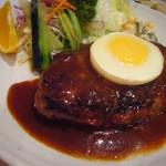 キッチン ダイシン - ハンバーグステーキ