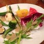 22375406 - 季節野菜のグリル