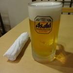 じゅりぃー - 生ビール:550円
