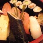 加茂寿司 - 握り寿司のアップ