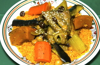 モロッコ料理カサブランカ - 伝統料理のクスクス