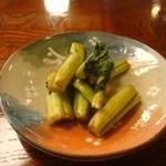 苗名滝苑 - 野沢菜