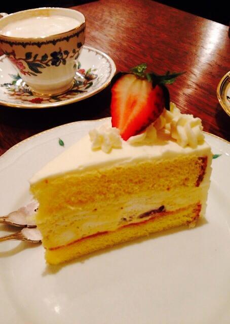 かふぇ あっぷる - ショートケーキ
