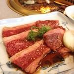 山形牛ステーキ&焼肉 かかし - 山形牛カルビ