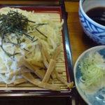 中華そば まるふく - ざる柳麺